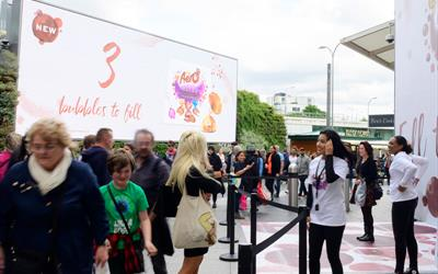 screen hire, digital signage, screen in a card, video brochure, outdoor screen hire, bespoke screens